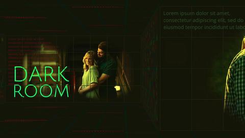 Dark Room Apple Motionテンプレート