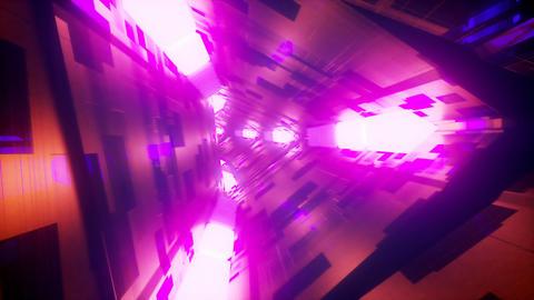 Triangle Tunnel Loop VJ Animation