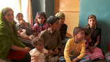 A family gathering in Afghanistan Stock Video Footage