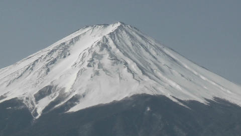 Mt. Fuji, Japan Stock Video Footage
