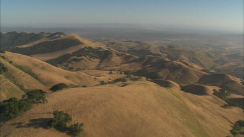 Helicopter aerial of the Santa Maria Valley, California Live Action