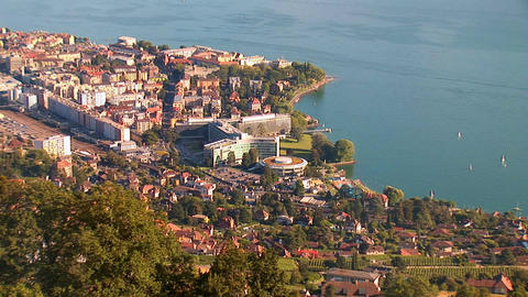 Vevey - Nestle Footage