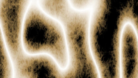 Looping animations of a white and brown amorphous or... Stock Video Footage