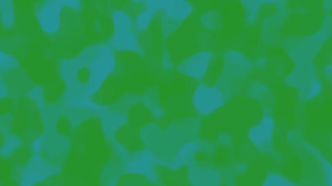 Looping animations of a green teal liquid camouflage like... Stock Video Footage
