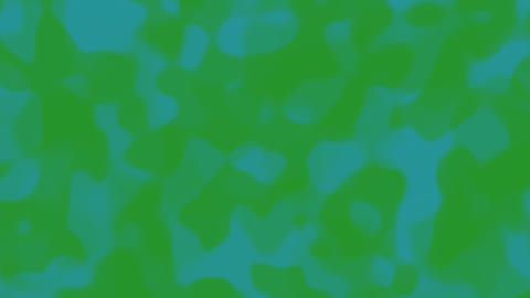 Looping animations of a green teal liquid camouflage like pattern Animation