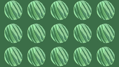 watermelon pattern, ideal footage for themes such as cooking, healthy life, diets and well-being Videos animados