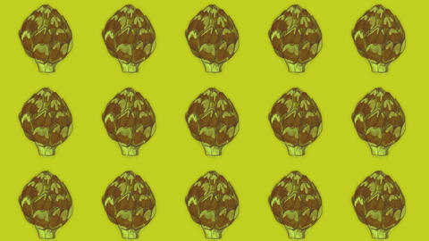artichoke pattern, ideal for themes such as cooking and more Videos animados