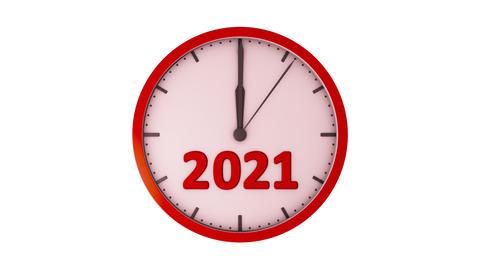 The clock 2021 1080 Animation