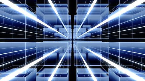 デジタル 空間 アブストラクト イメージ CG動画