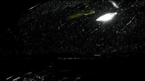 Rain On Vehicle Window Live Action
