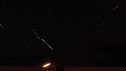 Night Sky Lapse - Pantelleria - Italy Live Action