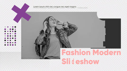 Fashion Modern Slideshow After Effects Template