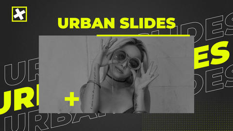 Urban Slides Promo After Effectsテンプレート