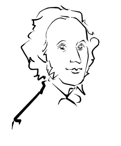 Jakob Ludwig Felix Mendelssohn Bartholdy Animation