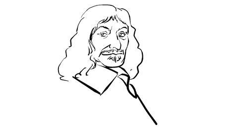 Rene Descartes Animation