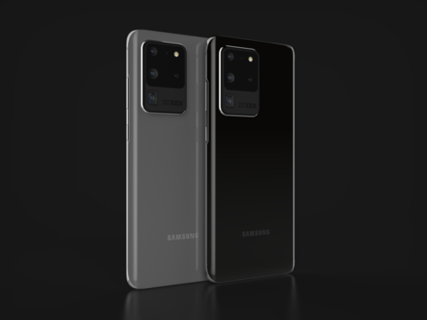 Sasmsung Galaxy S20 Ultra 3D Model
