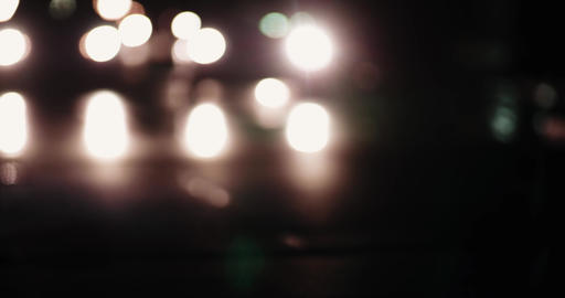 Bokeh traffic lights Live Action