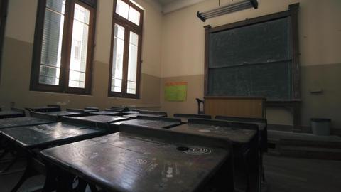 Empty classroom Live Action