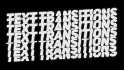 Scale Text Transitions