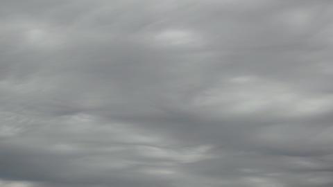 Rain Clouds Like Ocean Footage