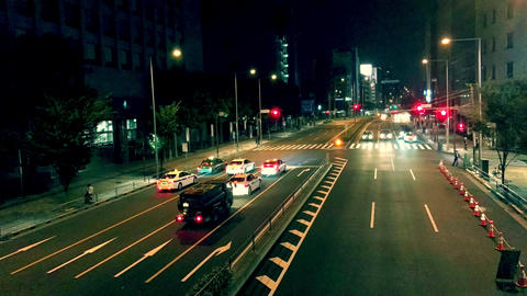 4K time-lapse video of the national highway in tokyo Japan ビデオ