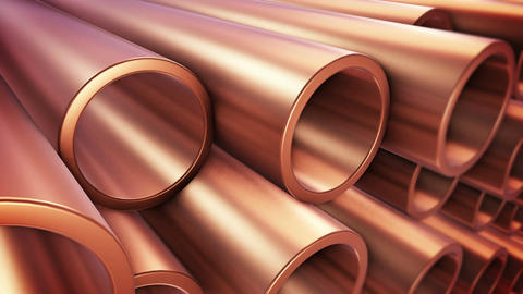 Copper pipes Animation