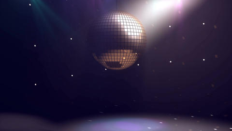 Disco ball background Animation