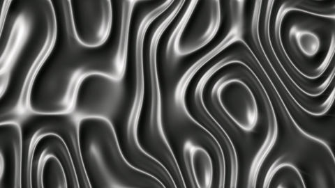 Abstract ripple metal surface background seamless loop Animation