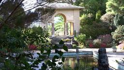 Italian Gardens Garnish Island Co. Cork, Ireland Footage