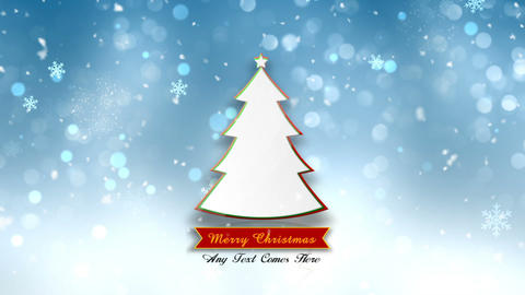Chirstmas Photo Tree After Effects Template