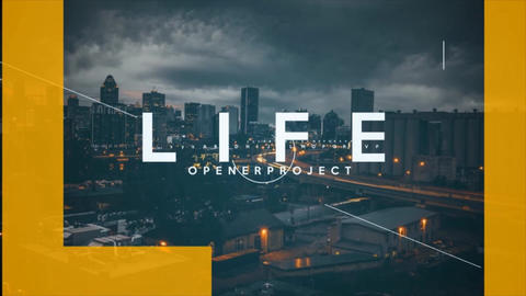 Opener Life After Effects Template