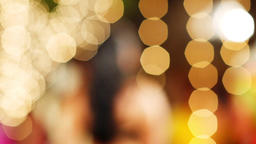 Golden Abstract Background Filmmaterial