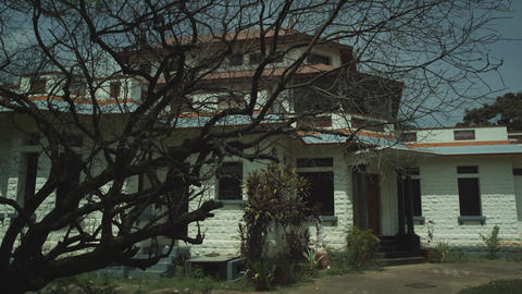 House Exterior, Horror House, night Live Action
