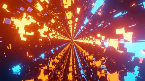 glowing neon pattern cgi vfx animation dj loop in 4k uhd 60fps Animation