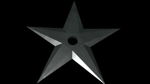 Throwing star Modelo 3D