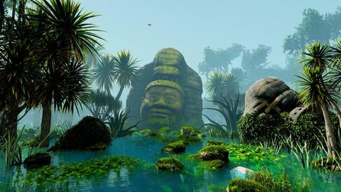 Sculptures of ancient civilization Animation