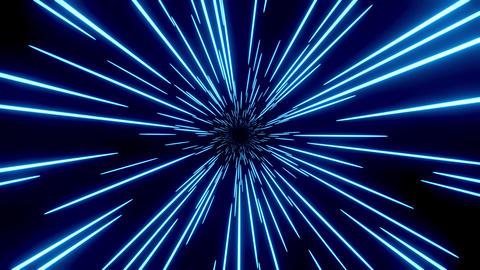 3d Warp Loop Star Burst 0