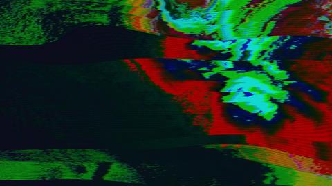 Transforming data glitch futuristic futuristic shimmering background Live Action