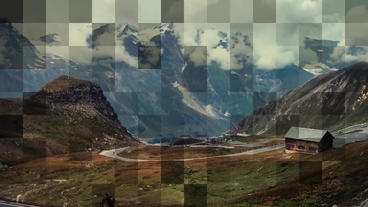 Mosaic Slideshow After Effects Template