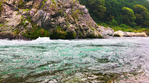 natural rivers of Japan Footage