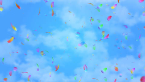 Flying blades Animation