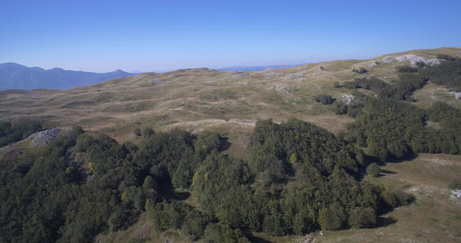 Aerial, Beautiful Durmitor Landscapes, Montenegro. Native Material Footage