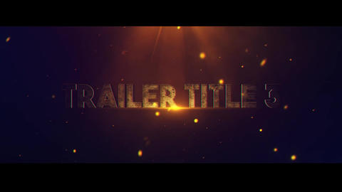 Trailer Title V 3 After Effects Template