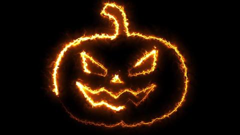 Halloween Pumpkin Loop Animation