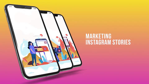 Marketing - Instagram stories After Effects Template