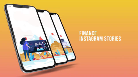 Finance - Instagrame stories After Effects Template