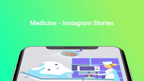 Medicine Flat - Instagram stories After Effects Template