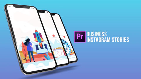 Business - Instagram stories Plantillas de Motion Graphics
