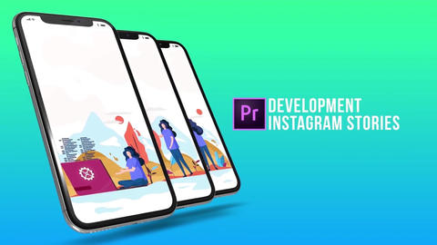 Development - Instagram stories Plantillas de Motion Graphics