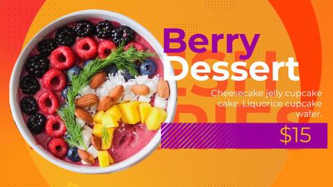 Colorful Food Promo SALE AE